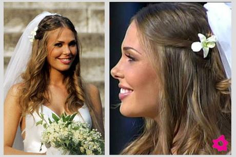 Acconciature da sposa capelli sciolti