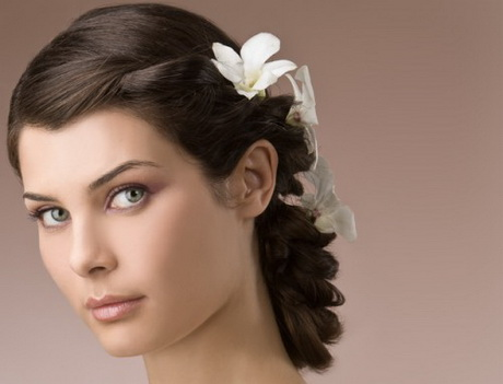 Wedding hairstyles l acconciatura le dernier cri Long brown straight volume hairstyle by jean louis david