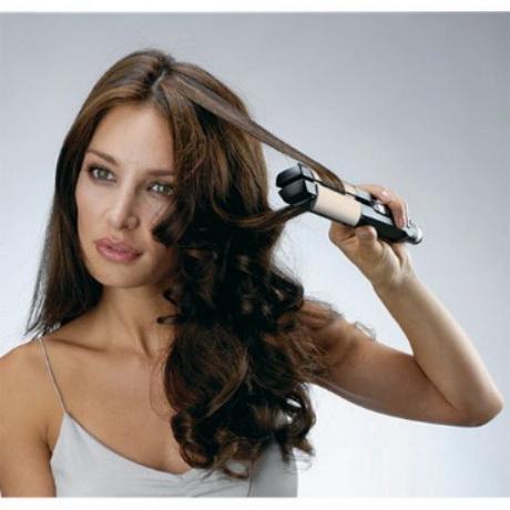 Piastra per fare capelli ricci