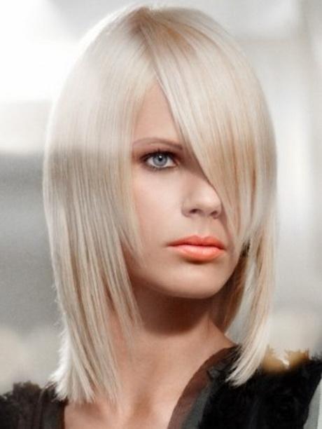 Immagini tagli capelli media lunghezza