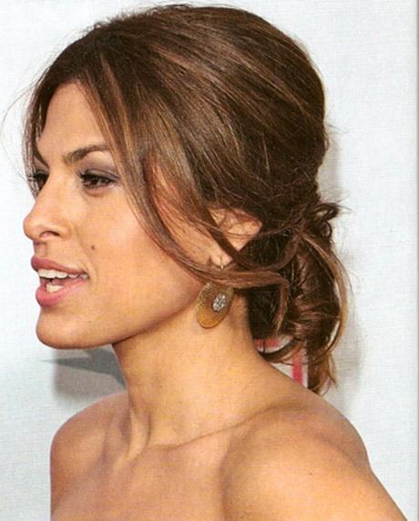 Pettinature capelli legati