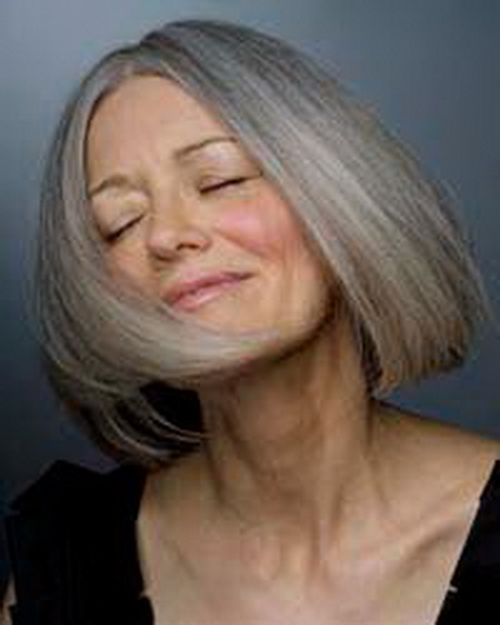 Donne capelli grigi