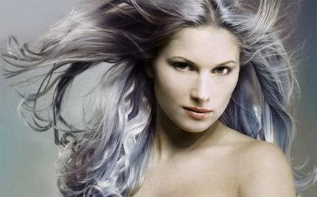 Foto capelli bianchi