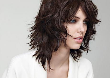 Tagli capelli lunghezza media immagini