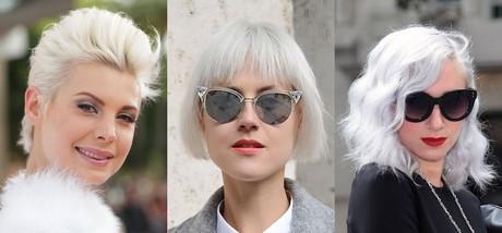 Capelli corti decolorati - Bagno di colore copre i capelli bianchi ...
