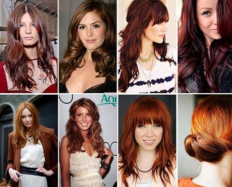 Colore capelli sfumature