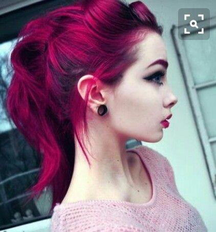 Meches rosse capelli castani