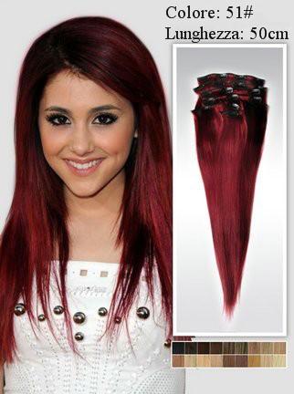 Meches capelli rossi