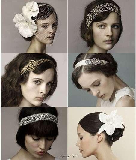Accessori per capelli anni 30