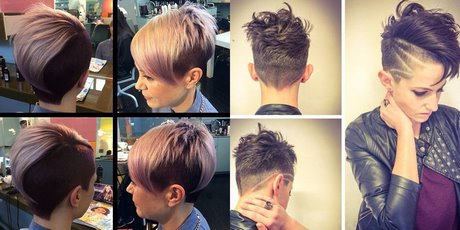 Taglio capelli rasati donne