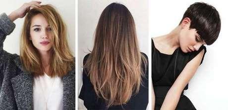 Taglio medio per capelli lisci