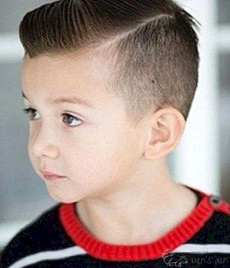 Tagli di capelli bambini 2019
