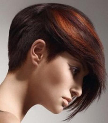 Colore per capelli corti