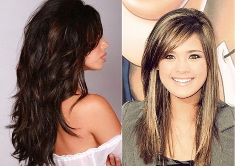tagli  capelli lunghi scalati