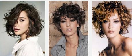 Taglio capelli corti ricci donne 2017