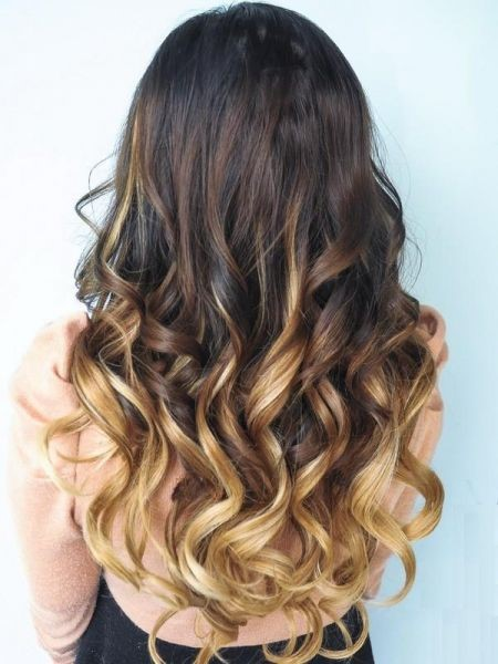 Foto di capelli con lo shatush