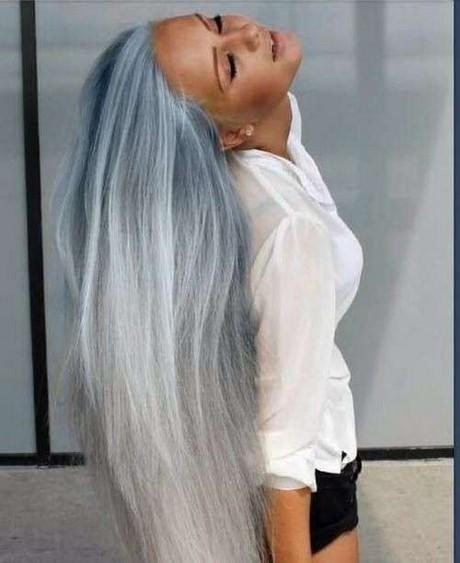 Shatush e capelli bianchi