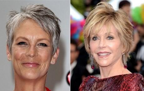 Tagli di capelli corti per donne di 50 anni
