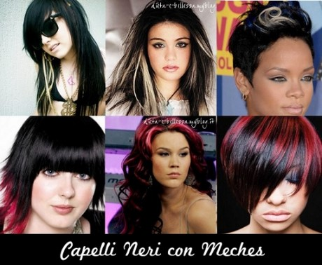 Meches capelli castani scuri