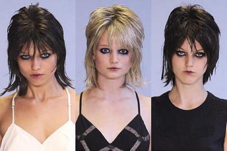 Tagli di capelli anni 80