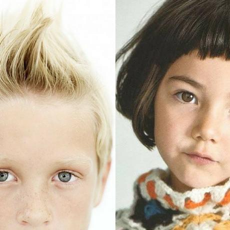 foto tagli capelli corti  bambina